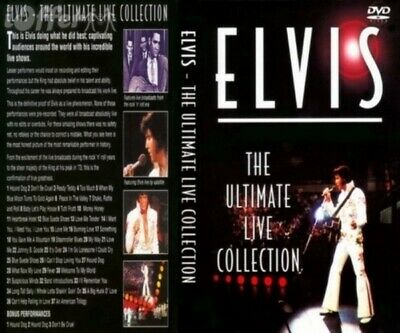 ELVIS-The Ultimate Live Concert DVD Collection, NEW (FREE SHIP!) 1956 thru 1973