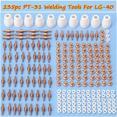 235xTIP Nozzle PT31 LG40 Plasma Cutting Torch Air Plasma Cutter Consumables 2018
