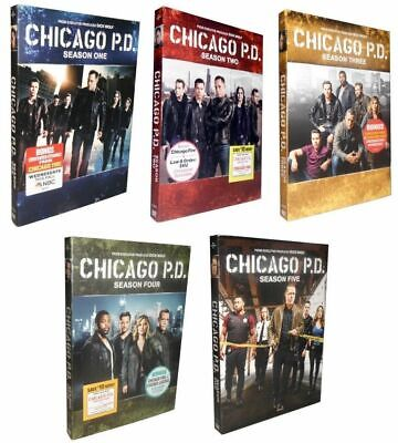 Chicago P.D. PD: Complete Series Seasons 1-5 (DVD, 2018, 27-Discs) 1 2 3 4 5