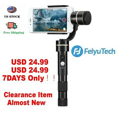 Feiyu G4 Pro 3-Axis Handheld Gimbal Stabilizer for iPhone,Andriod & Other Phones