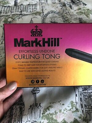 Mark Hill Undone Curling Tong. In Box Used Once