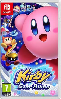 Kirby Star Allies Nintendo Switch NEW SEALED DISPATCHING TODAY ALL BY 2 P.M.