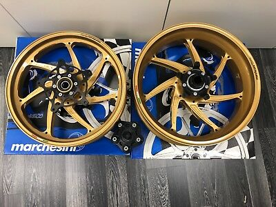 NEW Marchesini M7RS GENESI Aluminium forged S1000RR wheels