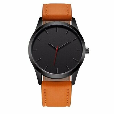 2018 Fashion Casual Mens Watches Top Brand Luxury Leather Business Quartz Wat...