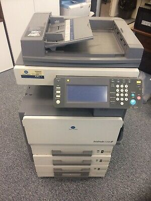 Konica Minolta bizhub C250 Colour Photo Copier With 2 Toners fully working
