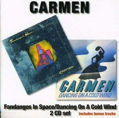 Carmen - Fandangos In Space/Dancing On A Cold Wind (CD Used Very Good)