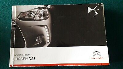 Citroen Ds3 Owners Manual  Handbook  2010 2013  319 Pages