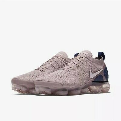 New Nike Air VaporMax Flyknit 2 Diffused Taupe/Phantom 942842-201 Men's Size 10