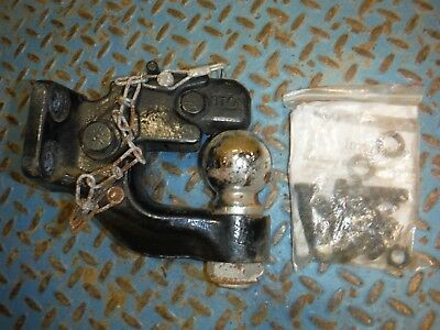 """New Buyers 10050 8-Ton 2"""" Ball Forged Alloy Steel Combination Hitch!"""