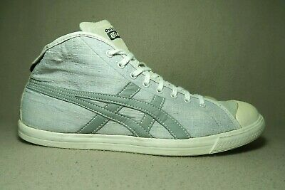 separation shoes 767b3 1365e ASICS ONITSUKA TIGER HN836 Men's Grey Canvas/Suede Walking Trainers UK  7.5/EU 42