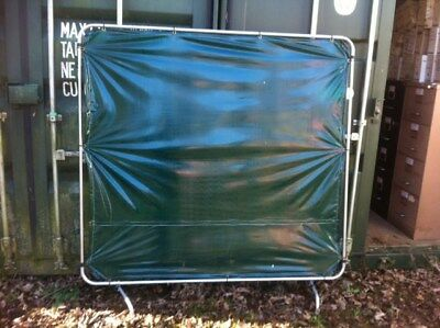 Welding Curtain for electric Welding 6ft x 6ft GCE brand, free standing