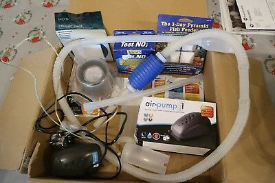 Biorb Fish Tank Air Pump  Cleaning Pads Hoover Light Base + More