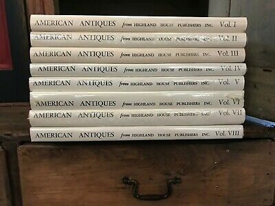 American Antiques From Israel Sack Collection Volumes I-Viii
