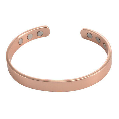 Magnetic Bracelet Arthritis Pain Relief Bangle Cuff Adjustable Wristband HS1304