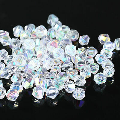 200pcs #5301 3mm Austria Glass Crystal Bicone beads Fashion DIY jewelry Make 174