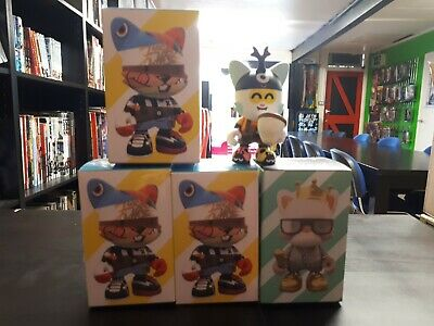 Janky Series One 2 Sealed + 1 The First Limited Edition +1 Opened