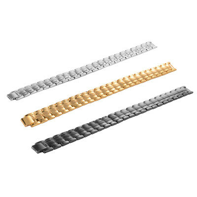 Magnetic Therapy Bracelet Adjustable Wristband For Men Silver/Black/Golden