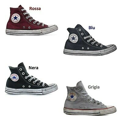 all star converse basse nere uomo