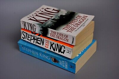 Paperback Book Job Lot: Stephen King x3 Just After Sunset/Cell/Eyes of...RRP £21