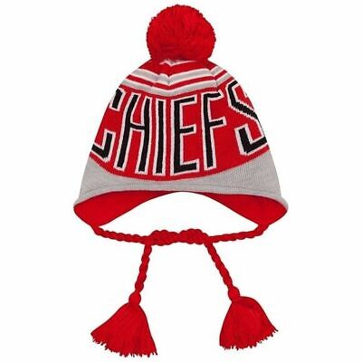 KANSAS CITY CHIEFS NFL Little Boys Knit Hat and Gloves Set - Red ... 4ceb43b55a5e