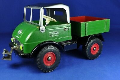 Steiff: Unimog Kipper / Tipper 8855/16, 1973-79, 1:15, umgebaut / modified