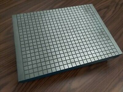 "Machinist Cast Iron Lapping Plate 12x16"", 4"" height #LP-1216-new"