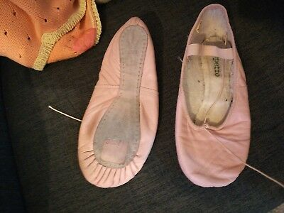 Chaussons de danse repetto demi pointe cuir 37