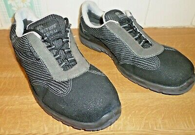 Size 9 Veltuff Mesh Black Safety Trainers