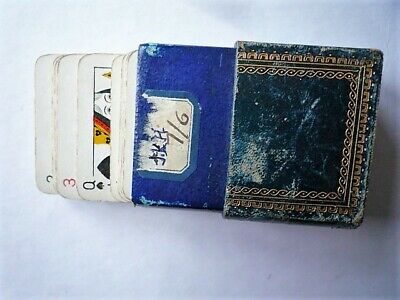 playing cards vintage patience in book-like box