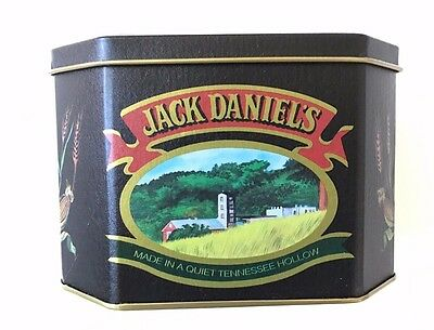 Vintage JACK DANIELS Tennessee Whiskey Collector's Tin