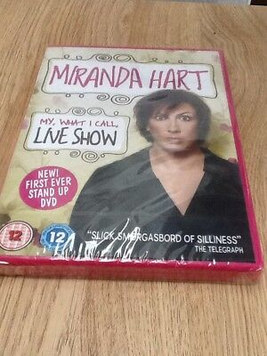 Miranda Hart - My, What I Call, Live Show (DVD, 2014) *NEW/SEALED* FREE DELIVERY