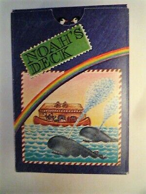 playing cards vintage Noah's Deck