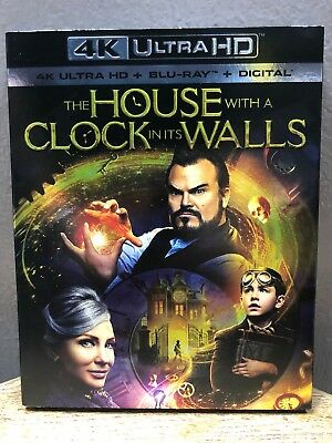 The House With A Clock In Its Walls (4K Ultra HD + Blu Ray, 2018) Jack Black