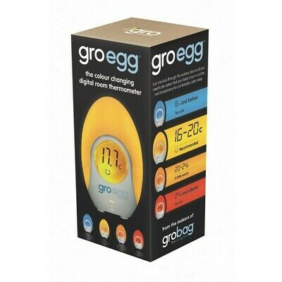 The Gro Company Gro-Egg Room Thermometer Colour Changing LED