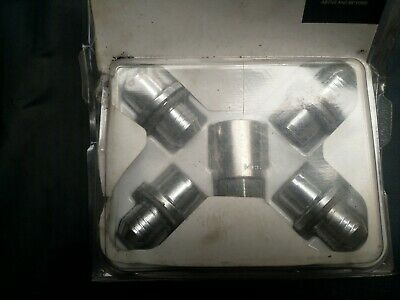 GENUINE Land Rover Discovery 3&4 range rover sport  Locking Wheel Nuts