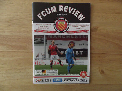 2018/19 FC United of Manchester v Southport National Lge North 08/09/18