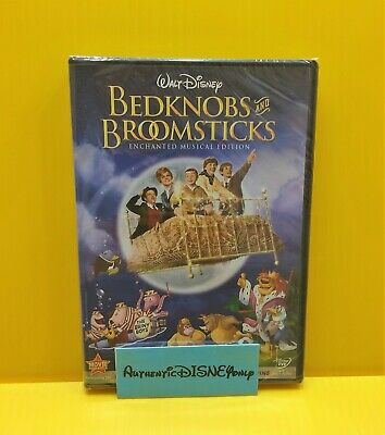 Disney BEDKNOBS & BROOMSTICKS Enchanted Musical Edition DVD NEW SEALED AUTHENTIC