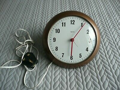 Vintage/retro -- Copper Effect -- Smiths -- Electric Wall Clock