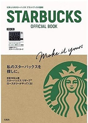 Starbucks Japan/Starbucks Official Book With Card (Release on February 20)