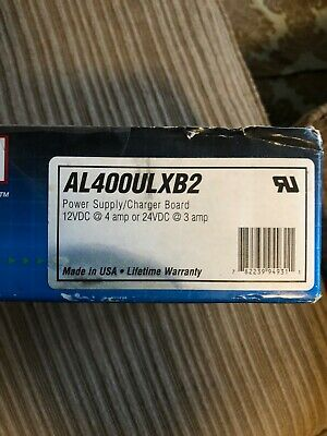 Altronix AL400ULXB2 Power Supply Charger Board 12VDC @ 4A or 24VDC @ 3A NEW