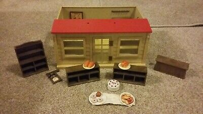 Vintage 1980s Sylvanian Families Bakery With Accessories 530
