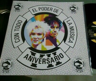Roxette-Joyride-LP Mexico Promo Radio Unique cover PS EMI
