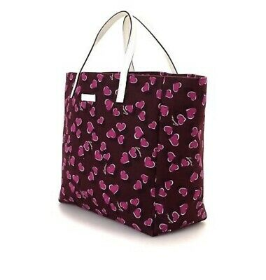 191aa2253c9b Authentic Gucci Bag Red Pink Heart Pattern Designer Tote