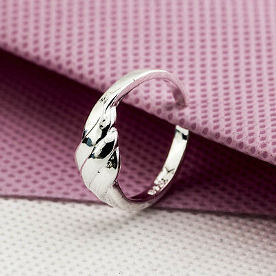 925 Solid Sterling Silver Plated Women/Men NEW Fashion Ring Gift SIZE OPEN 11