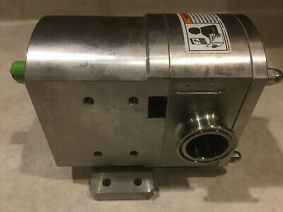 UNIBLOC-PD 350 rotary lobe pump and gearbox, Stainless Construction, Sanitary