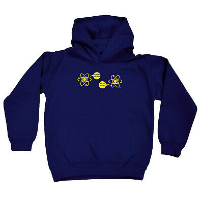Funny Kids Childrens Hoodie Hoody - I Lost An Electron Are You Positive