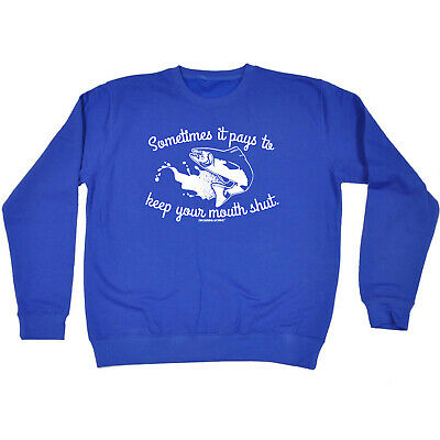 Fishing Childrens Sweatshirt Funny Jumper - Fishing Sometimes It Pays To Keep