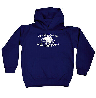 Fishing Kids Childrens Hoodie Hoody Funny - You Can Call Me The Fish Whisperer