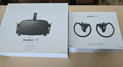 Oculus Rift w/ Xbox One Controller Virtual Reality System + Touch controllers