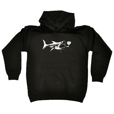 Scuba Diving Kids Childrens Hoodie Hoody Funny - Where Are The Big Fish Scuba Di